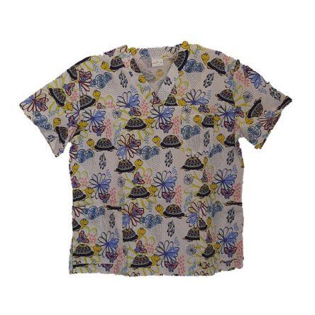 Μπλουζα-εμπριμέ χελώνες